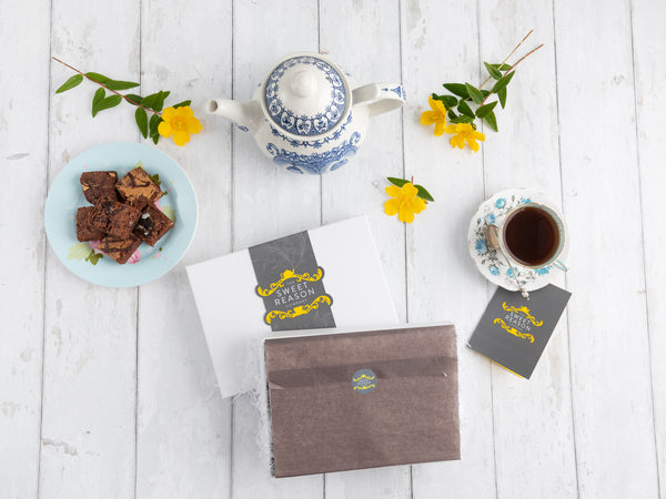 The Coffee and Chocolate Afternoon Tea Box (Gluten Free)