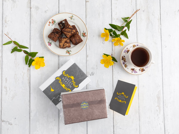 Vegan Luxury Brownie Gift Box