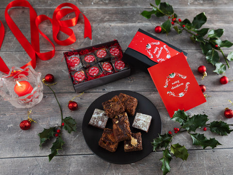 A gift full of Christmas spirit with 8 delicious gluten...
