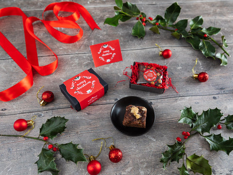 A festive little treat perfect to send as a delightful alternative...