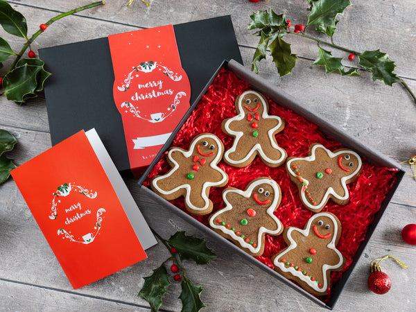 Christmas Gingerbread Biscuit Gift Box