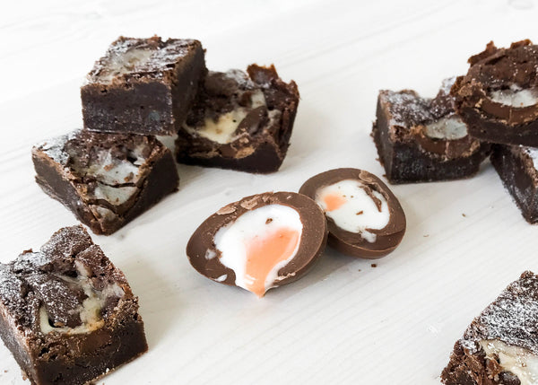 Easter 'Mini Eggs' & 'Creme Egg' Brownie Gift