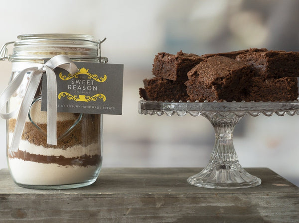 Large Vegan & Gluten Free Brownie Mix Jar