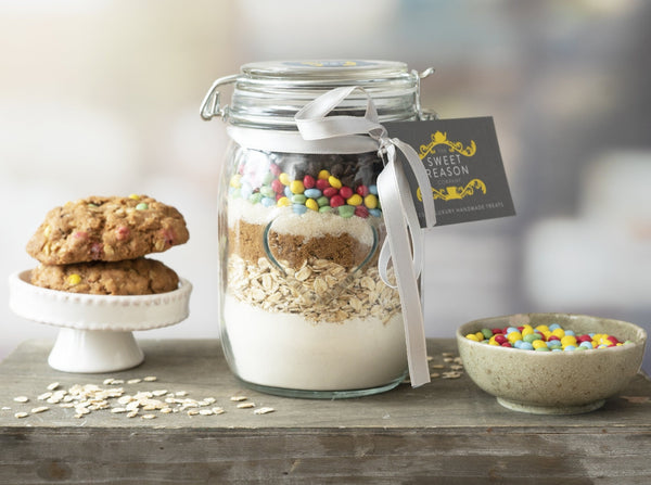 Large Vegan Smarties Cookie Mix Jar