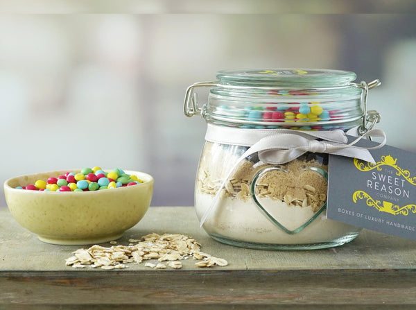 Small Vegan Smarties Cookie Mix Jar