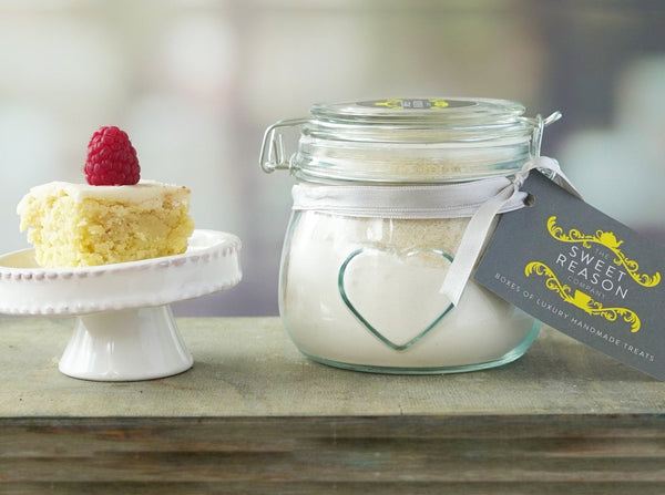 Small Vegan Vanilla Cake Mix Jar