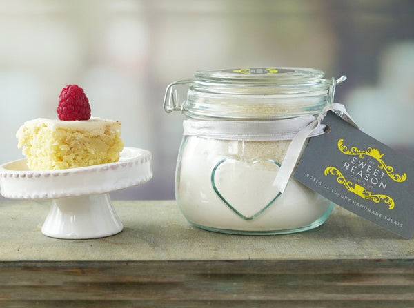 Small Vanilla Cake Mix Jar