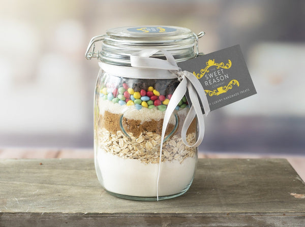 Large Gluten Free Smarties Cookie Mix Jar
