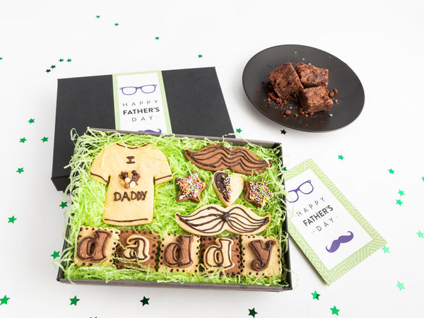 Father's Day 'I Love Daddy' Biscuit Box