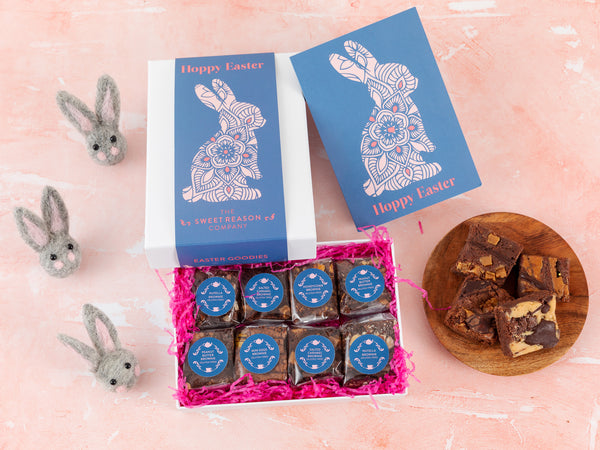'Easter Bunny' Gluten Free Luxury Brownie Gift