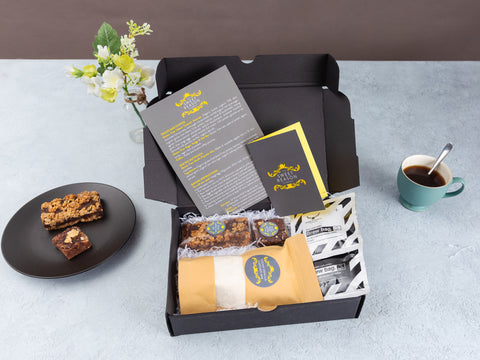 Our Vegan Baking Kit, Treats & Coffee Mini Hamper Box combines our...