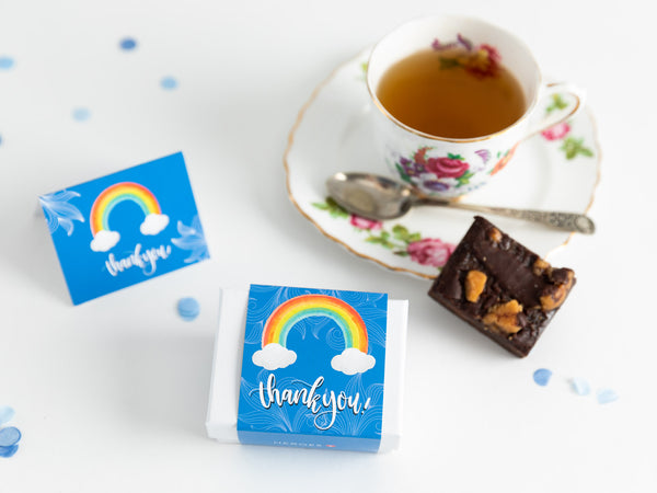 Thank You - Mini Rainbow Brownie Gift