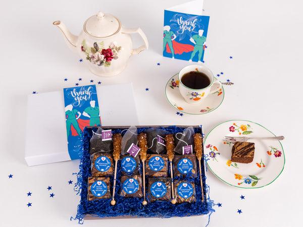 Thank You - Hero Afternoon Tea for Four Gift Box