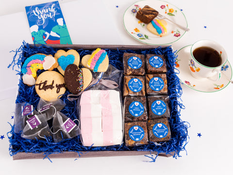Our irresistible Heros Collection Box of Delights for the people you need...