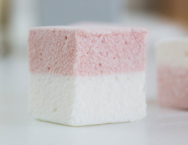 Raspberry & Lemon Marshmallows with Tea