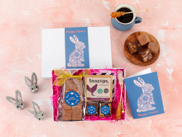 'Easter Bunny' Coffee and Marshmallow Gift