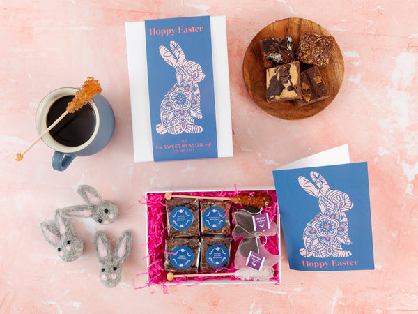Easter Bunny Afternoon Tea For Two Gift