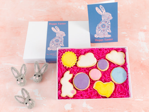 Easter Bunny Indulgent Biscuit Box