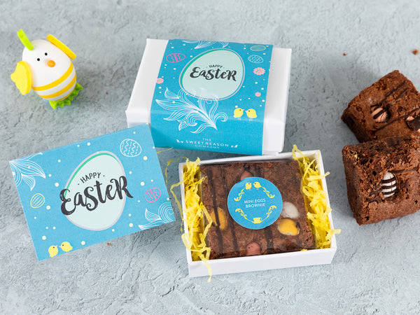 Easter Mini Egg Brownie Gift