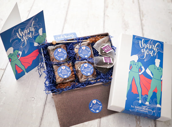 Thank You - Gluten Free Hero Afternoon Tea for Two Gift Box