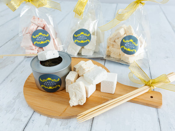 Marshmallow Ultimate Toasting Box (Raspberry, Salted Caramel and Vanilla)