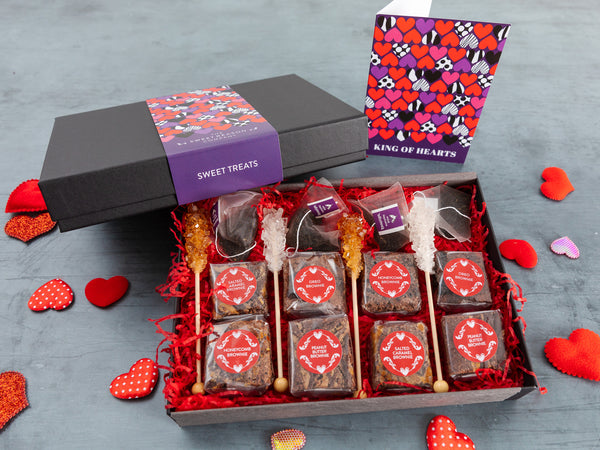 'King of Hearts' Afternoon Tea For Four Gift