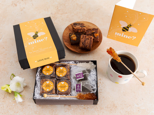 'Bee Mine' Afternoon Tea For Two Gift