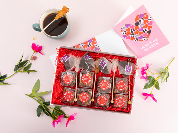 'Queen of Hearts' Afternoon Tea For Four Gift