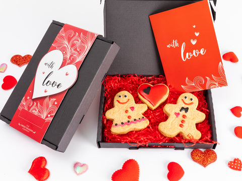 Our irresistible 'With Love' hand made biscuits are presented in a beautiful luxury gift...
