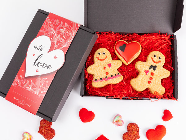 'With Love' Gingerbread Man and Woman Box