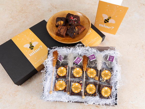 'Bee Mine' Vegan Afternoon Tea For Four Gift