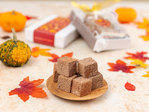 Thanksgiving Double Chocolate Marshmallows with Tea