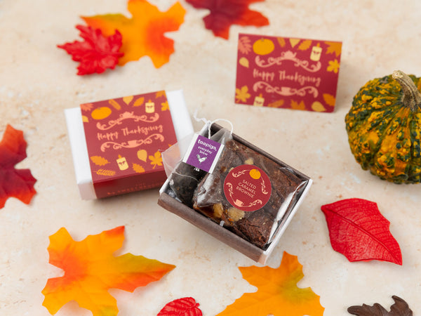 Thanksgiving Mini Afternoon Tea Gift Box