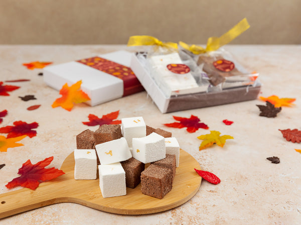Thanksgiving Double Chocolate and Champagne & Elderflower  Marshmallows Afternoon Tea for Four Gift