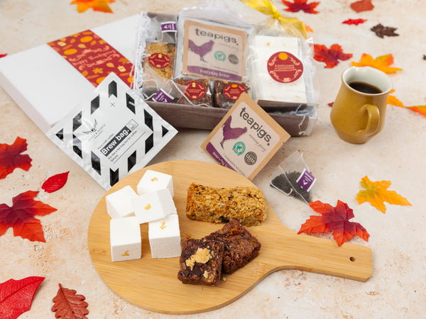 Thanksgiving Treats, Coffee and Tea Gift Box