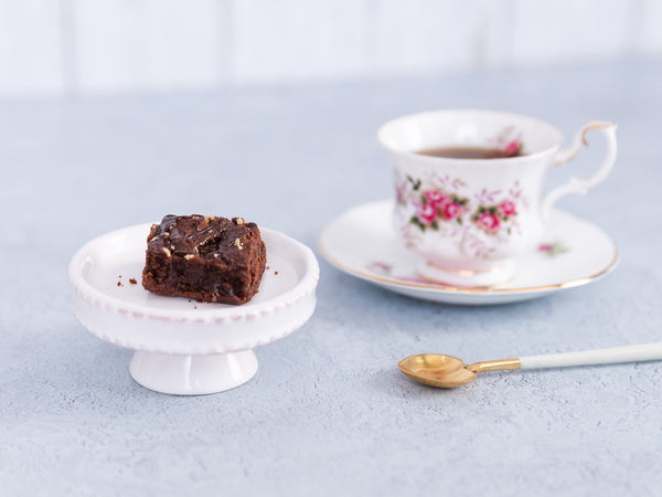Thank you - Rainbow Gluten Free Brownie & Tea Gift