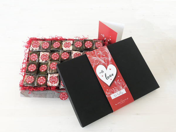 'Love Bites' Ultimate Vegan Brownie Gift