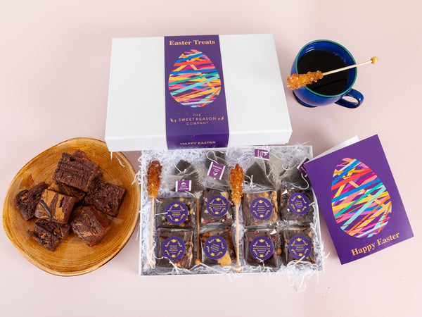 Easter Egg Vegan Brownies Afternoon Tea For Four Gift
