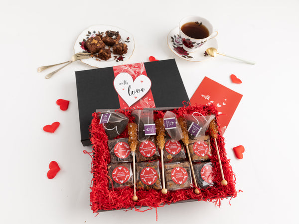 'With Love' Afternoon Tea For Four Gift