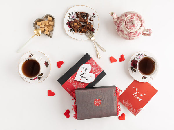 With Love Afternoon Tea for Two for 12 Months Gift