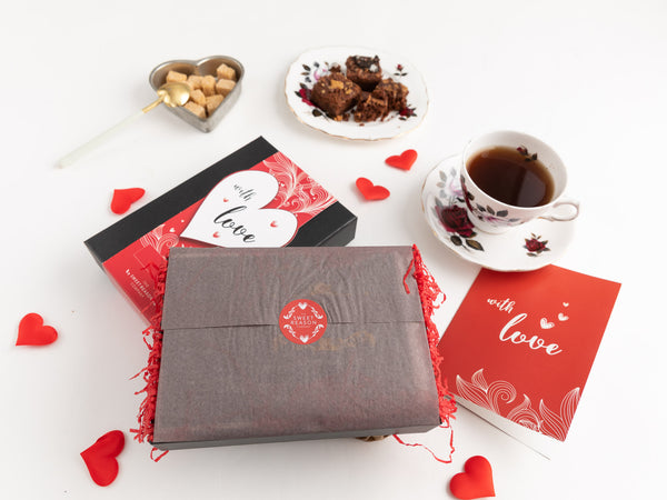 'With Love' Gluten Free Afternoon Tea For Four Gift