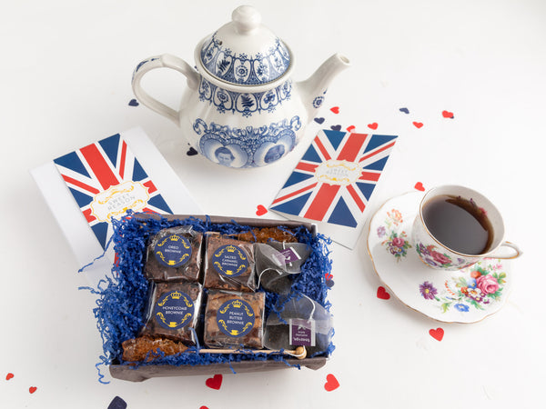 British Afternoon Tea for Two for 12 Months Gift