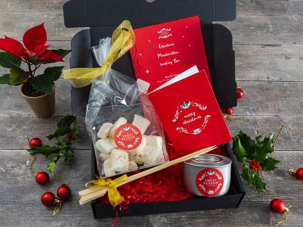 Christmas Vanilla Marshmallows Luxury Toasting Box