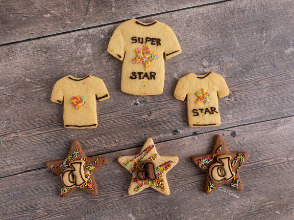Father's Day 'Super Star' Biscuit Box