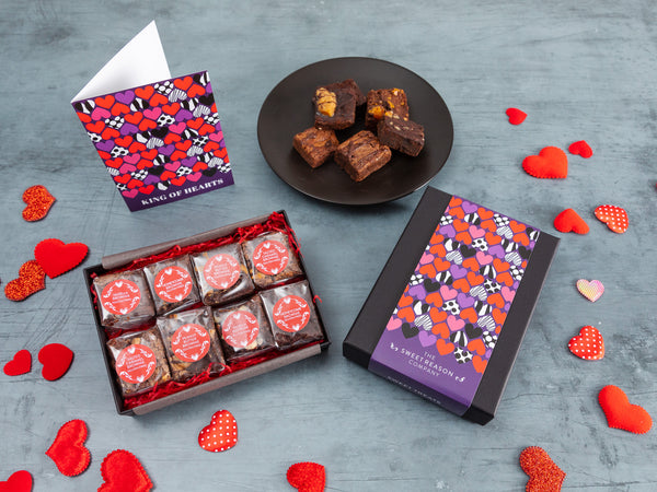 'King of Hearts' Gluten Free Luxury Brownie Gift