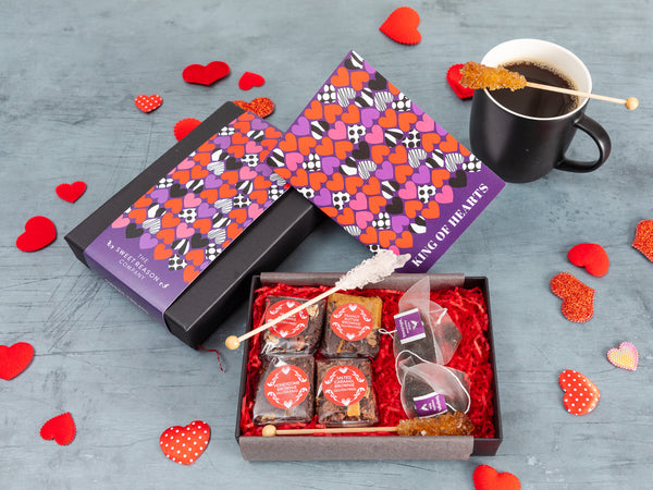'King of Hearts' Gluten Free Afternoon Tea For Two Gift