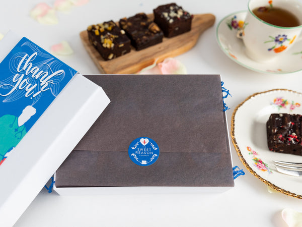 Thank You - Gluten Free Hero Afternoon Tea for Four Gift Box