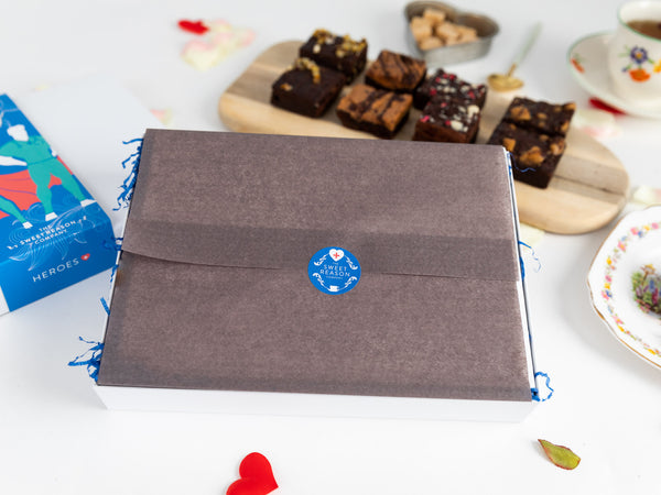 Thank You - Hero Vegan Ultimate Brownie Gift Box
