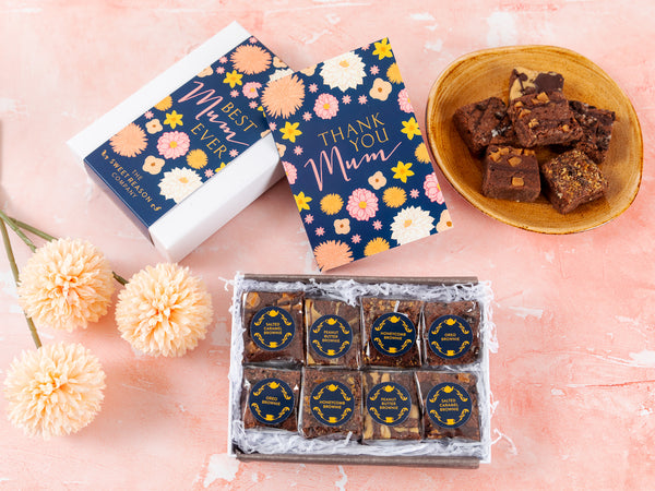 'Best Mum Ever' Luxury Brownie Gift