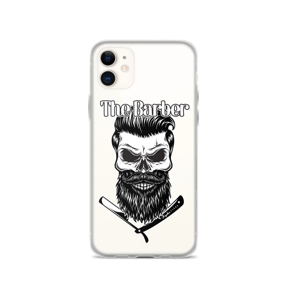 iPhone Case Clear by The Barber